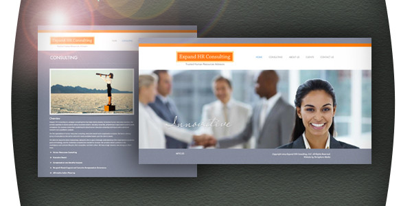 Expand HR Consulting Website