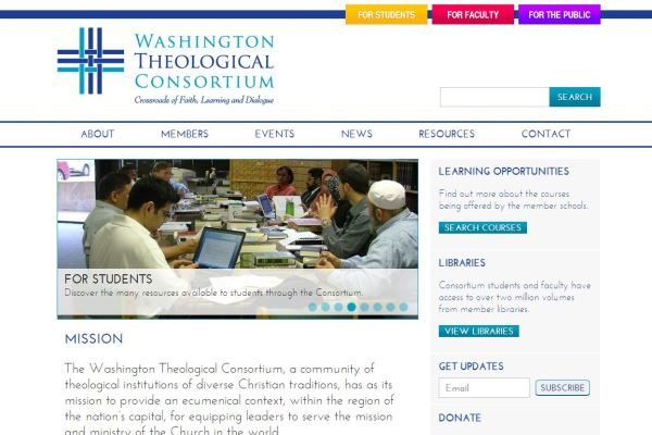 Washington Theological Consortium Website