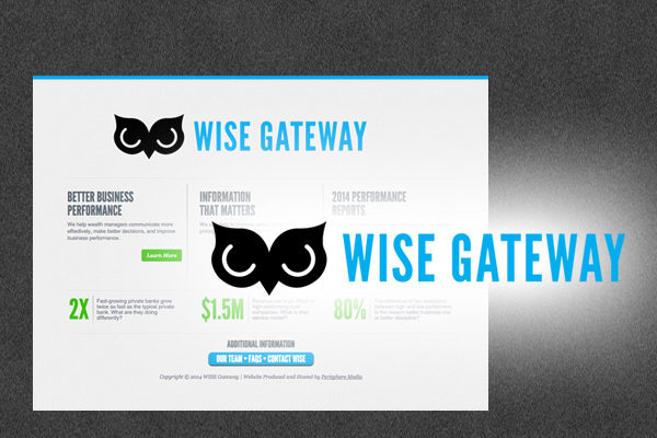WISE 2014 Logo and Landing Page
